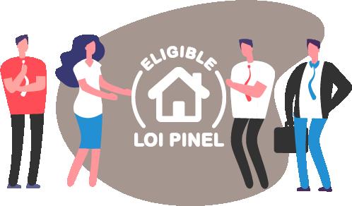 Eligible à la loi Pinel